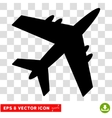 Aircraft Eps Icon vector image vector image