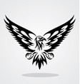 Eagle Tribal vector image vector image