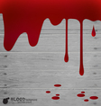 Happy Halloween design banners Blood dripping vector image