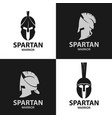 Helmets spartan warriors icon