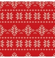 Knitting Pattern vector image vector image