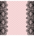 Old lace vintage background vector image