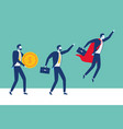 people business success vector image vector image