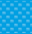 program for video playback pattern seamless blue vector image vector image