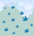 Tweet rain vector | Price: 1 Credit (USD $1)