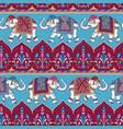 indian elephants vector image
