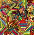 Patchwork pattern vector image