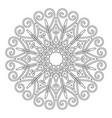 coloring book page vintage decorative elements vector image vector image