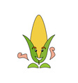 Corn-Caricature-380x400 vector image vector image