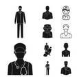 design of medical and hospital symbol vector image