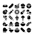 Food Icons 12 vector image vector image