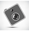 Hipster Retro Photo Camera vector image vector image
