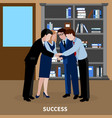 human resources background vector image vector image