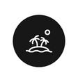 island icon simple car sign vector image