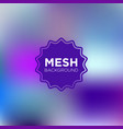 primary purple mesh background vector image vector image