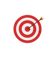 target icon on a white background flat style vector image