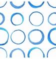 watercolor circle pattern vector image