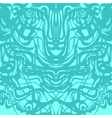 Abstract blue lace moire pattern vector image