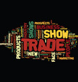 five reasons trade show exhibits are popular text vector image vector image