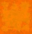 Orange old wall decorative grunge background vector image