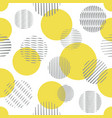 simple seamless pattern with circle shapes vector image vector image