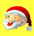 Wrinking Santa vector image
