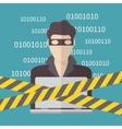 Hacker Internet Security concept vector image