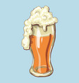 cheers happy st patrick s day beer mugs vector image vector image