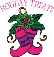 Holiday Treats vector image vector image