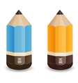 Pencils icon vector image vector image