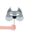 Wolf Mask vector image vector image