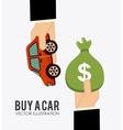 buy a car vector image vector image