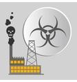danger warning design vector image