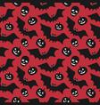 hand-drawn halloween seamless pattern vector image