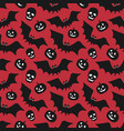 hand-drawn halloween seamless pattern with vector image vector image