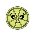 kawaii limon vector image
