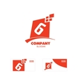 Letter G or number 6 six logo icon vector image