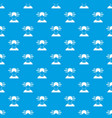 man and work words pattern seamless blue vector image