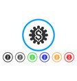payment options cog rounded icon vector image vector image