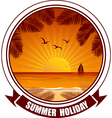 summer banners2 vector image vector image