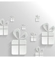 Abstract Background with Gifts vector image