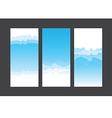 Nature background blue sky and cloud element 003 vector image