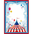 Circus frame vector image