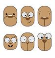 emoji emoticon expression vector image