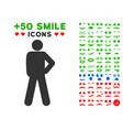 audacity pose icon with bonus smile clipart