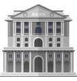 bank of england london isolated vector image