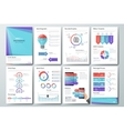big set infographic elements and vector image vector image