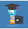 Business Education Concept Trends and innovation vector image vector image