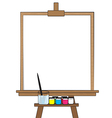 Drawing board vector image vector image