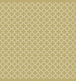 gold and white seamless pattern background vector image vector image